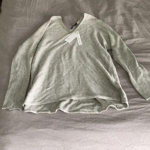 Vince neutral V neck sweater